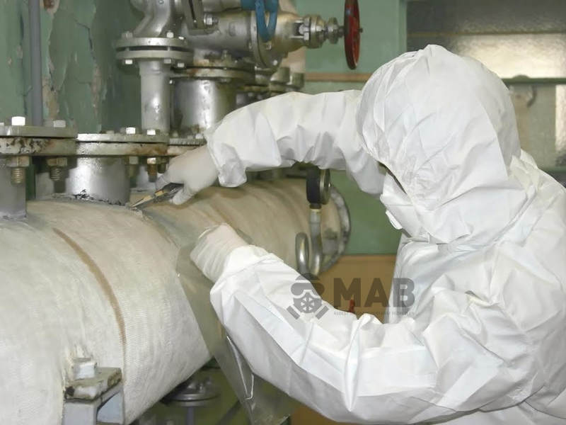 MAB Asbest Söküm ve Bertaraf Faaliyetleri İzmir'de Faaliyetlerine Başladı.